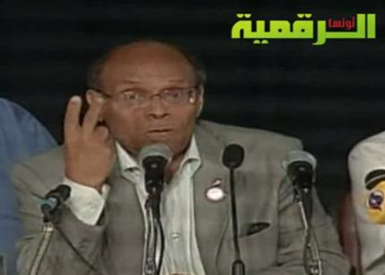 محمد منصف المرزوقي: رئيس الجمهورية التونسية
