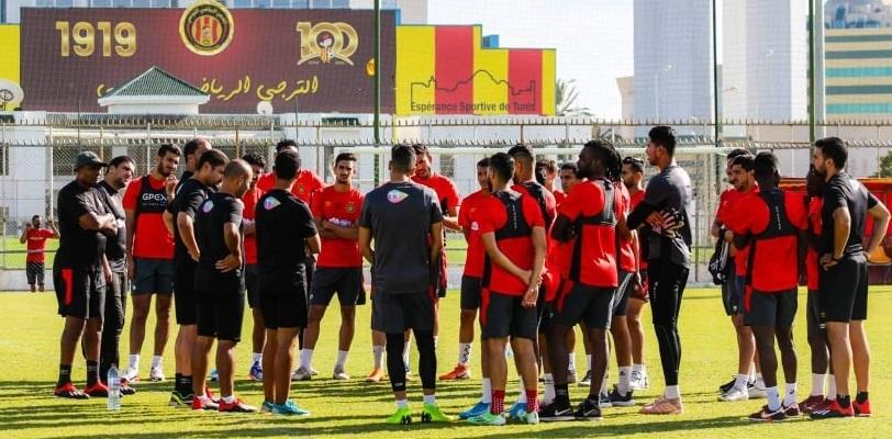 نجم الترجي الرياضي التونسي يضع حدا لكل التأويلات